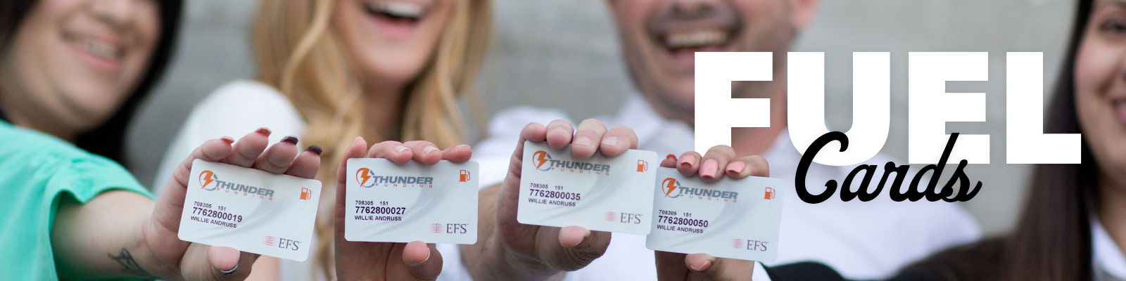 Gas & Fuel Cards for Truckers & Fleets - No Setup Fees!